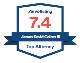 Avvo Rating 7.4 Top Attorney